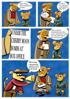 Great Mouse Detective Out Take by andynortonuk