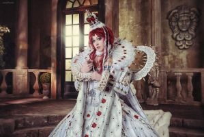 Trinity Blood Esther and Abel by JustMoolti