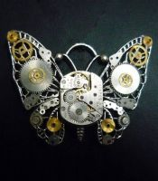Steampunk butterfly by lollollol2