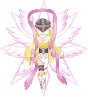 Chibi Angewomon by Al-Cube51