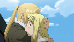 Ed Winry by DR-ANGUS