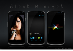 Black Minimal by yuyudroid