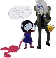Marcy and Simon by weirdfuzzything