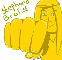 Stephano brofist by Julisia1
