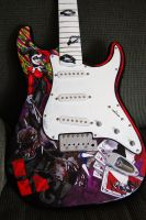 Harley Quinn Strat 4 by FeelTheRomance3
