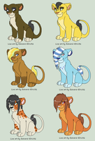 Point Adoptables [3 LEFT] by Kattria4