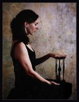 selfportrait with hour-glass by maya78