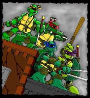 TMNT by Eastman and Laird by LittleOrphanAwesome