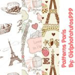 Pack Motivos Paris!! by girlphototutos999