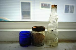 Jars Upon The Windowsill. by MireInHypocrisy