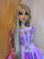 FOR SALE NOW Disney Tangled Rapunzel OOAK doll by DanielMinaev
