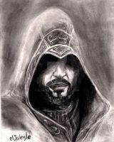 Ezio Auditore in Assassin's Creed Revelations by el3aleyle