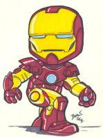 Chibi-Iron Man 3. by hedbonstudios
