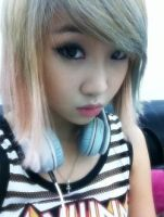 Beautiful Minzy by snowflakeVIP