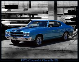 blue Chevelle SS by AmericanMuscle