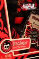 Draculogan Box Name Tag by KittRen