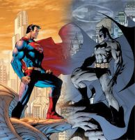Superman VS. Batman by solidus636