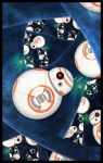 BB-8: The Fractal Awakens by Loony-Lucy