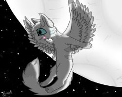 Moving the Moon by BeadFeather