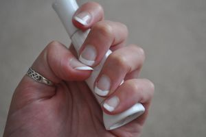 French Mani Nails by Kai--Photography