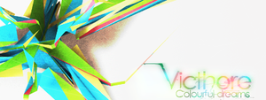 C4D signature by Victhore