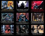 The many natures of Batman  by GrandNightConvoymare