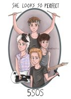 5 Seconds Of Summer-She Looks So Perfect by itsrisa