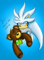 Silver and his teddy COLORED by GNTS
