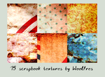 Icon textures pack 12 - scrapbook by Woolfres