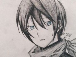Yato (Noragami) by cmbmint