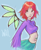 Will from WITCH XD by javvie