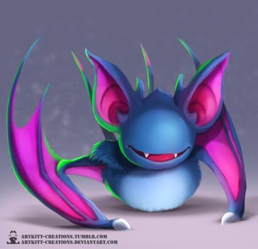 Kanto - Zubat by ArtKitt-Creations