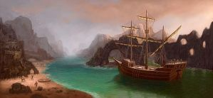 treasure island by ElChief