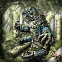 Ancient Guardian - Life plaine by Victor-Lam-art