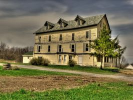 Mark Hopkins House HDR by Lectrichead