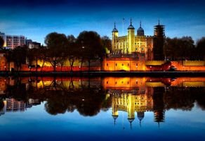 Tower of London by sican