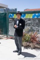 The Second Doctor Investigating FanimeCon by Stormfalcon