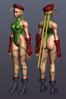 Cammy highpoly wip by Jiggeh