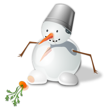 Snowman Tutorial PNG by Crematia18