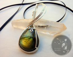 Rainbow's Reflection by BlackBlossomJewelry