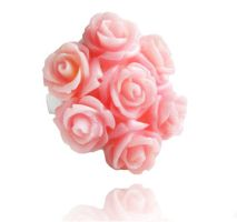 Bouquet of Roses - Light Pink by crystaland