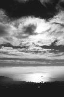Where the earth, sea and sky meet by Viravel