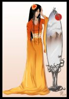 Goddess of Sun by Shomia
