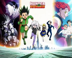 Wallpaper - HunterxHunter by ArkadyNekozukii