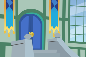 Simple Doorway Background by DaringDashie
