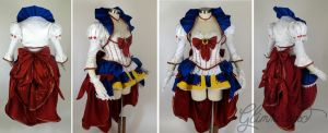 NoFlutter Sailor Moon Cosplay Dress by glimmerwood
