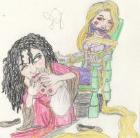 Gothel 'Pampers' Rapunzel by J-money117