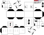 Cubeecraft Cat template Part one by lovefistfury