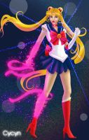Sailor Moon Henshin by Cycyn