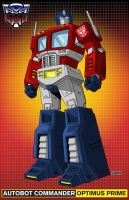 Optimus Prime by AJSabino